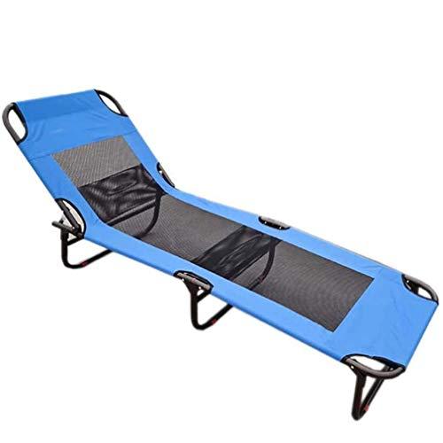 Tumbona para Tumbona, Silla de Cama reclinable, Plegable, sillas de jardín reclinables, Tumbona, Tumbona de Gravedad Cero, Plegable para Playa, Patio, jardín, Acampada al Aire Libre, Cojines para si