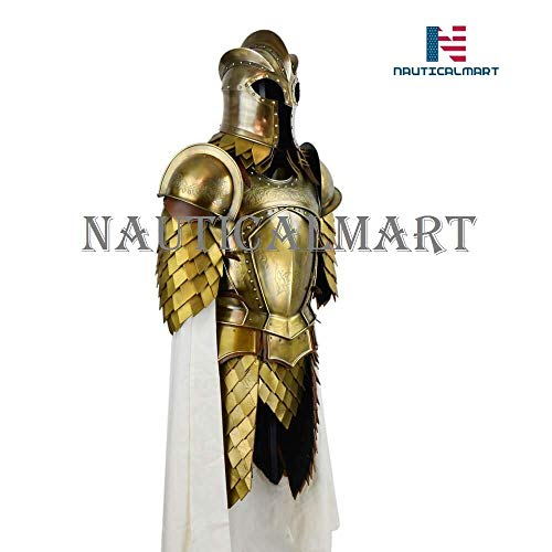 NauticalMart Medieval Kingsguard Armor Set with Display Stand