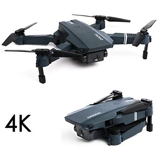 Fandazzie S107 Drone Plegable de Cuatro Ejes de Control Remoto de Aviones de Juguete Drones de fotografía
