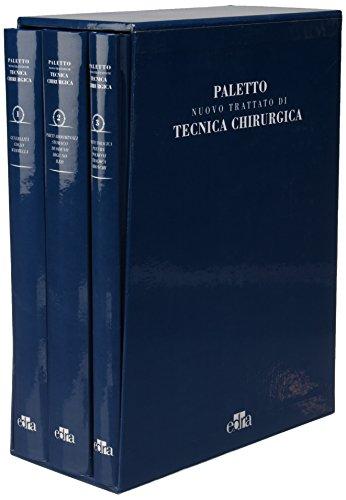 Nuovo trattato di tecnica chirurgica (2 Cofanetti contenenti 6 volumi)