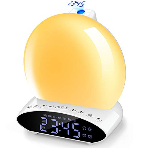 Despertador Luz Natural  marca LC-dolida