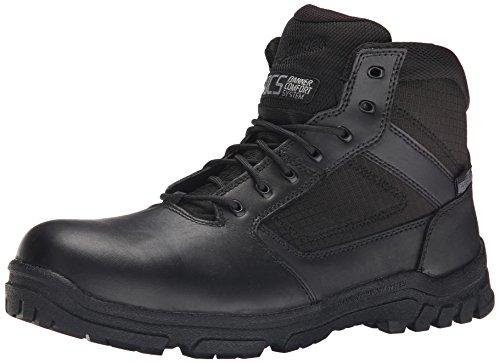 Danner Hombres Lookout Side Zip 5.5 Inch Law Enforcement Boot, Negro, 10 D US