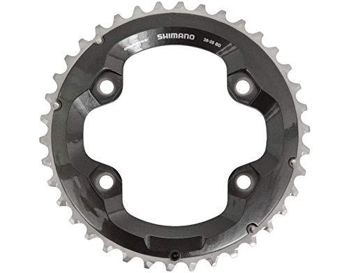 Shimano XT M8000, Corona 11 Velocità, 36/26 Denti, Nero