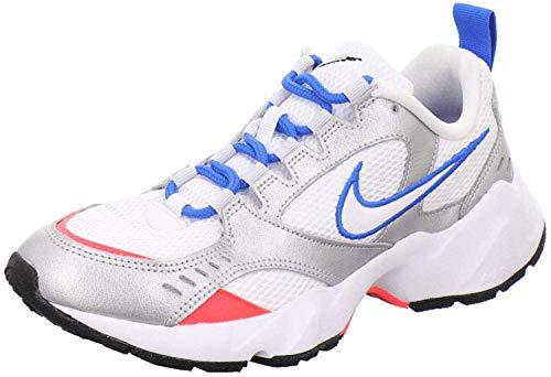 Nike Damen Air Heights Traillaufschuhe, Mehrfarbig (White/Photo Blue/Metallic Silver 101), 40 EU