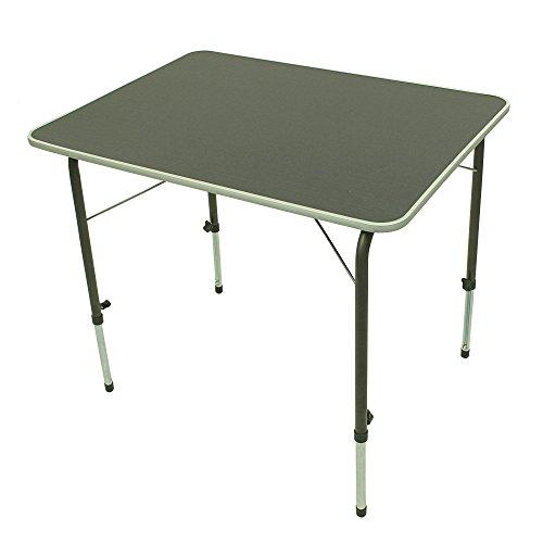 Portal Bob L Campingtisch 80x60 cm 2-4 Mann Klapptisch Gartentisch Reisetisch stufenlos verstellbar
