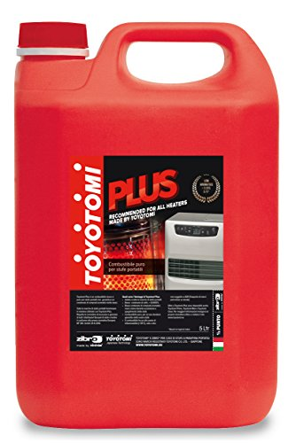 Toyotomi Plus – Combustible universal puro, rojo, 5 L