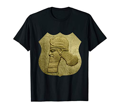 Assyrian Ashor Shield Assyrian Flag Ator Shield T-Shirt