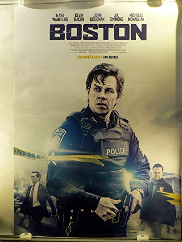 Boston - Mark Wahlberg - Michelle Monaghan - Filmposter A1 84x60cm gerollt