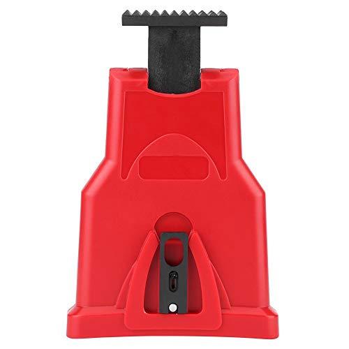 Mumusuki hoogwaardige elektrische kettingzaag, tanden, slijpen, gereedschap voor het slijpen van slijpgereedschappen voor het snel slijpen van hout Rood