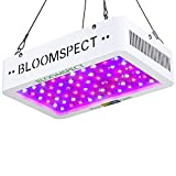 BLOOMSPECT Upgraded 600W LED Grow Light: Full Spectrum for Indoor Hydroponics Greenhouse Plants Veg and Bloom (60pcs 10W LEDs)