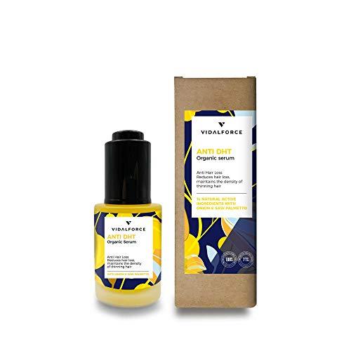 VidalForce Natural Anti DHT Tratamiento Para La Caída Del Cabello - 30 ml.