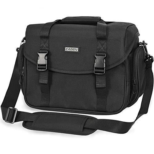 CADeN Camera Bag Case Shoulder Messenger Bag with Tripod Holder...