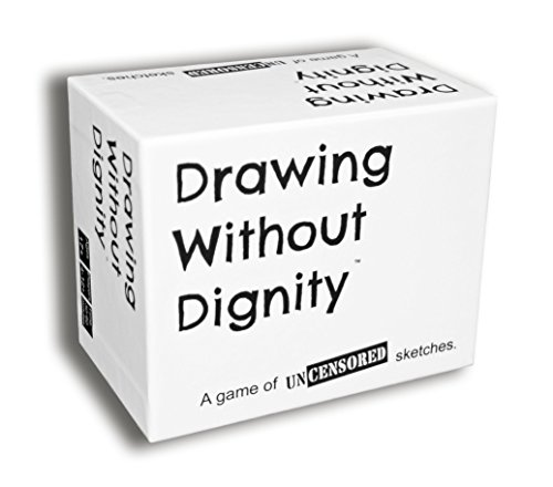 Drawing Without Dignity - A Party Game of Uncensored Sketches