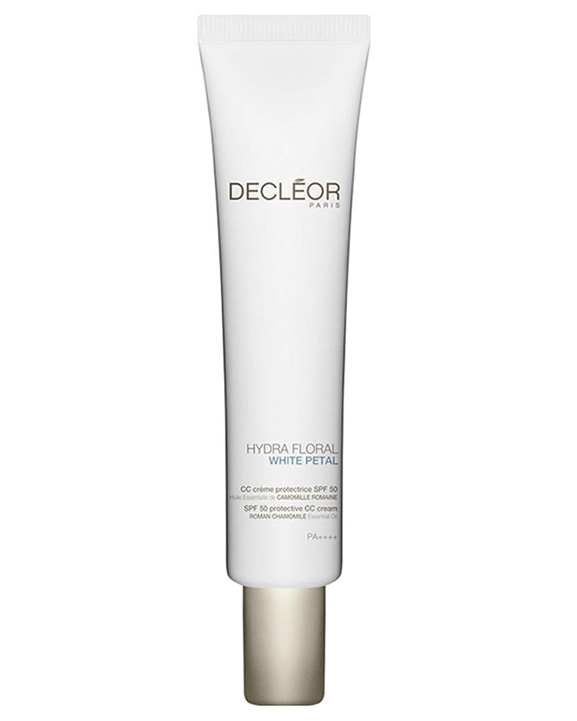 スライム詳細に刺繍デクレオール Hydra Floral White Petal Roman Chamomile Protective CC Cream SPF50 40ml/1.3oz並行輸入品