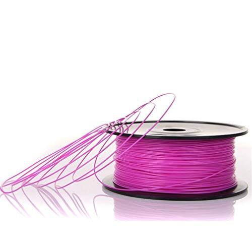 None Brand Material de impresión estable de la impresora 3D del ABS del filamento de 3 mm para Makerbot Reprap Purple