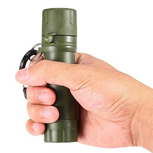 EANSSN Außenwasserfilter, Strohwasserfiltrationssystem Wasserreiniger, Für Notfallbereitschaft, Camping, Reisen, Rucksack