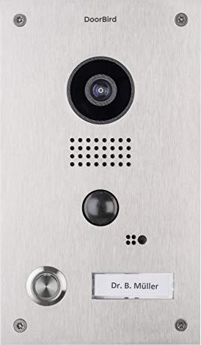 Preisvergleich Produktbild Bird Home Automatisierung,  Gruppe D202 DoorBird Video Türstation und Intercom Edelstahl