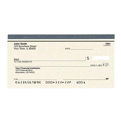 Parchment Personal Checks - Checks Personalized and Printed for Your Checking Account - 1 Box of Single Checks