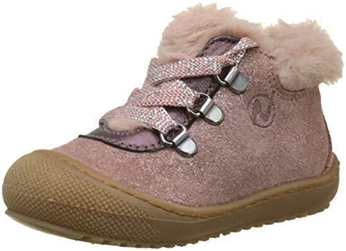 Naturino Smoothy, Sneakers Basses bébé Fille, Rose (Rosa Antico 0m01), 18 EU