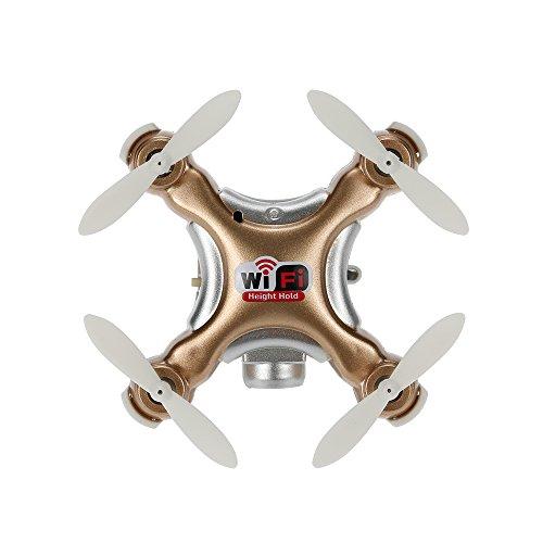 Goolrc Cx-10Wd-Tx Drone Mini con Cámara 0.3Mp Wifi Fpv 3D Eversión 2.4Ghz 4 Canales 6-Axis