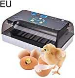 Ksruee Brutmaschine Vollautomatisch Hühner Eier Brutgerät