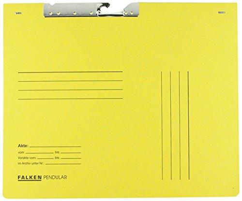 Falken 15033668 Pendelhefter kaufmännische Heftung, gelb