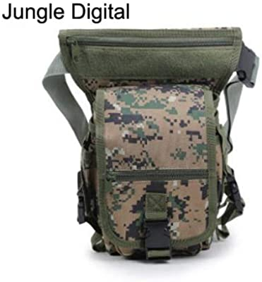 Motorcycle Leg Bag Men Belts Waist Nylon Fanny Pack Multifunction Military Equipment muslera Militar B679