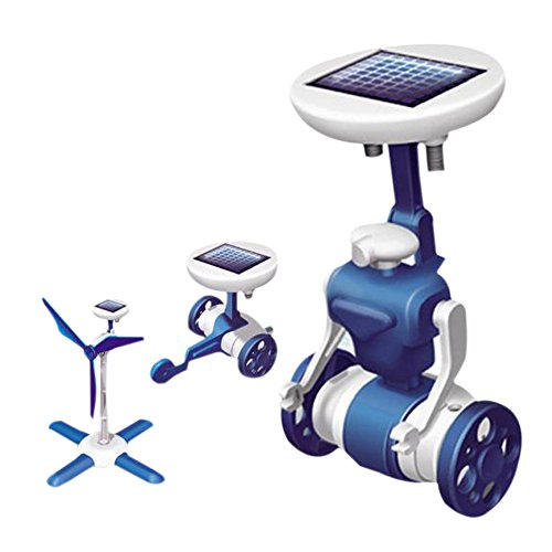 6 en 1 Robot Solar, juguete educativo de Robótica, Electrónica Rey®