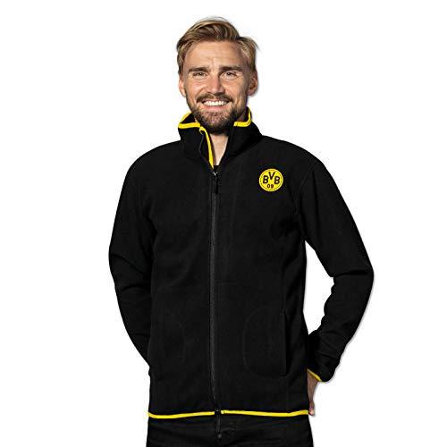 Borussia Dortmund BVB-Fleecejacke schwarz m