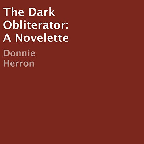 The Dark Obliterator audiobook cover art
