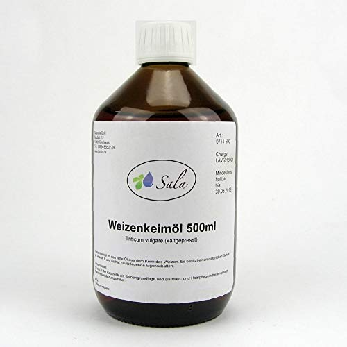 Sala Weizenkeimöl kaltgepresst konv. 500 ml