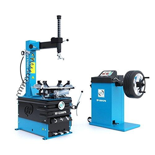 Set de máquina montadora de neumáticos y equilibradora RP-R-U200PN-400V1S y RP-R-U095PN