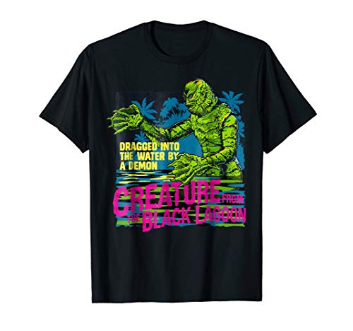 Dragged Into The Water By A Demon Creature From The Black Lagoon T-Shirt, Men, Women, S to 3XL