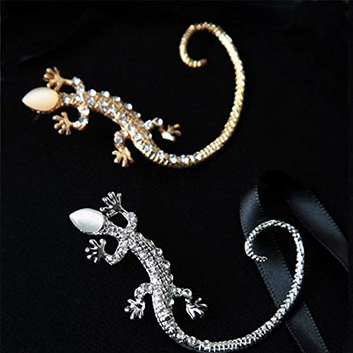 2 delige Ear klimmer, Fashion Elegant Charmant Lizard Ear Cuff Oorbellen Sieraden Gift for Women Lady Girl