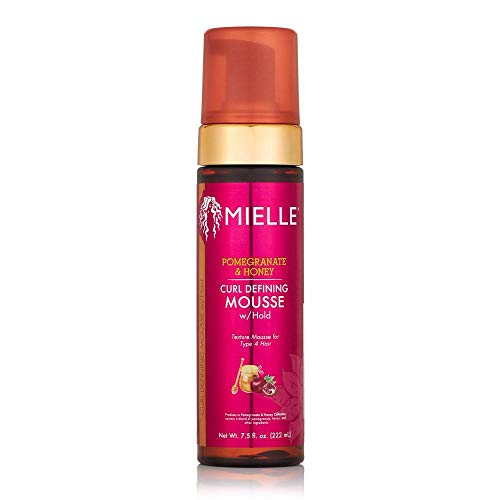 Mielle Pomegranate & Honey Curl Defining Mousse w/hold