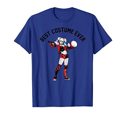DC Comics Harley Quinn Best Costume Ever Text Poster T-Shirt