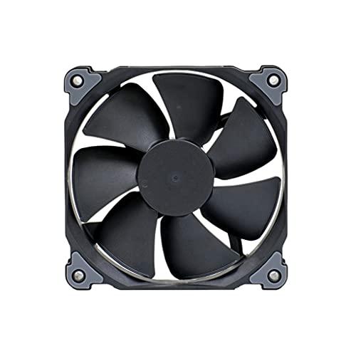 AWYST Disipador Pc 120/140 mm Fan de la Caja con el Ventilador de presión optimizado a presión PWM, Almohadillas de absorción del Sistema de radiadores para la Caja de la computadora Aerocool