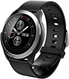 Orologio intelligente da uomo PPG + ECG cardiofrequenzimetro IP68 impermeabile Sport Smartwatch per Android iOS (A)