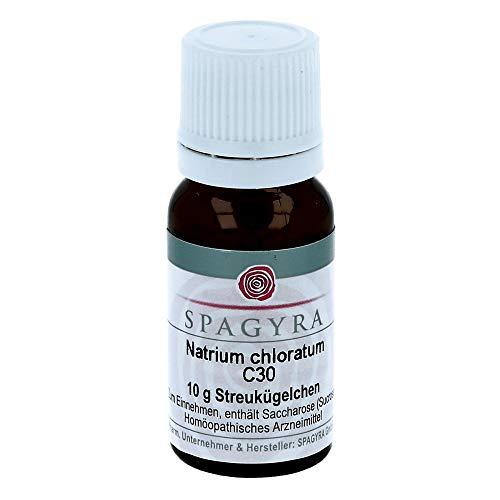 SPAGYRA Natrium chloratum C 30 Globuli, 10 g Globuli