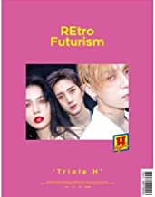 TRIPLE H [RETRO FUTURISM] 2nd Mini Album Random Ver CD+Poster+PhotoBook+Tracking Number K-POP