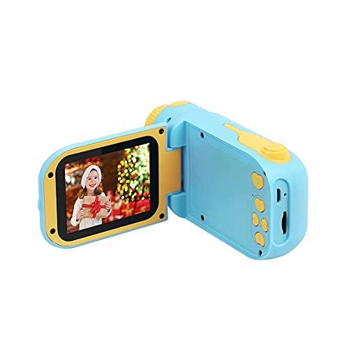Monllack Fotocamera, Videocamera per Bambini Lettori Dvd digitali Fotocamera per Bambini Videocamera per Ragazze Giocattoli Mini DV Giocattolo educativo Regalo di Natale per Bambini (Blu)