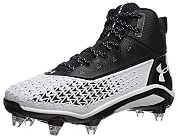 Under Armour Men s Hammer D Football Shoe Black  001 /White 13