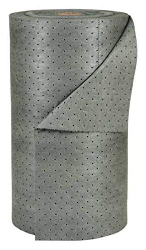 Absorbent Roll, Gray, 49 gal, 30 in. W