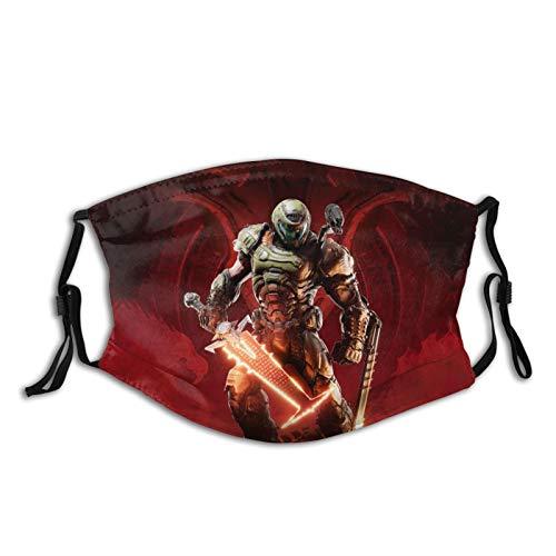 Doom Eternal Wallpaper 4k Outdoor Mask, Protective...