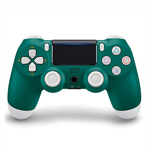 EtexFan Mandos PS4 Inalambricos, Controlador de Juegos PS4 Inalámbrico Bluetooth Gamepad de Doble Vibración 6-Axis para Playstation 4/PS3/PC - Verde clásico