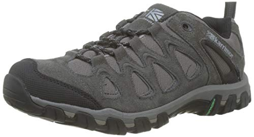 Karrimor Men's Supa 5 Low Rise Hiking Boots, Grey Dark Grey, 10 UK