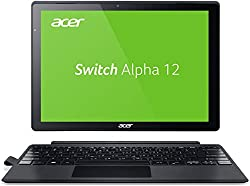 Acer Switch Alpha 12 SA5-271-5623 30,5 cm (12 Zoll QHD Touch IPS) Convertible Laptop (Intel Core i5-6200U, 4GB RAM, 128GB SSD, Windows 10) silber