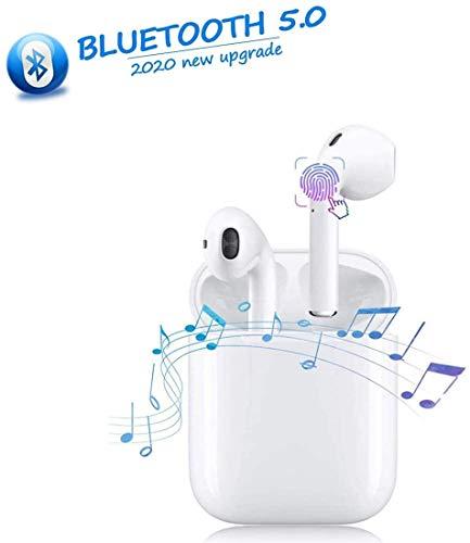 professionnel comparateur Casque sans fil Bluetooth 5.0, microphone et étui de charge intégrés, casque IPX5… choix