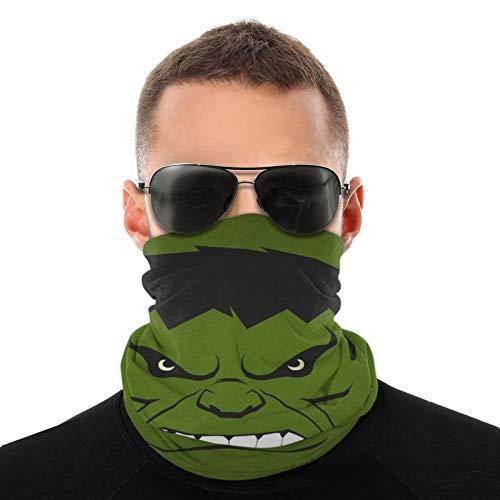 Dibujos animados Hulk bufanda para la cabeza a la moda, a prueba de sol, bandana para la cabeza, toalla para hombres y mujeres