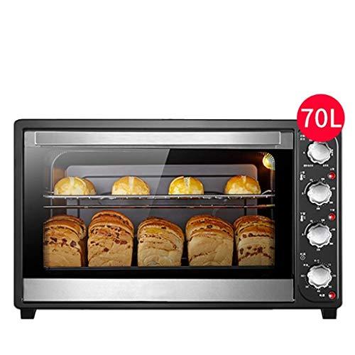 Slice Broodrooster, bakplaat en 2200 W kookvermogen - 70 l home kookvermogen grote capaciteit elektrische oven